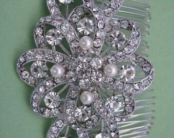 Wedding hair comb pearl wedding comb Bridal hair accessories wedding accessories Decorative comb Bridal hair jewelry Wedding headpiece pearl