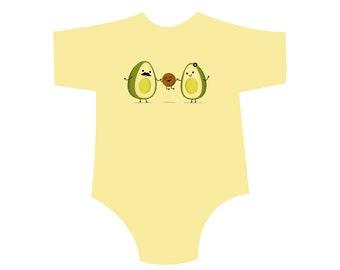 Avocado Family! Toddler Shirt/Onesie