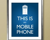 Doctor Who Inspired Phone Poster