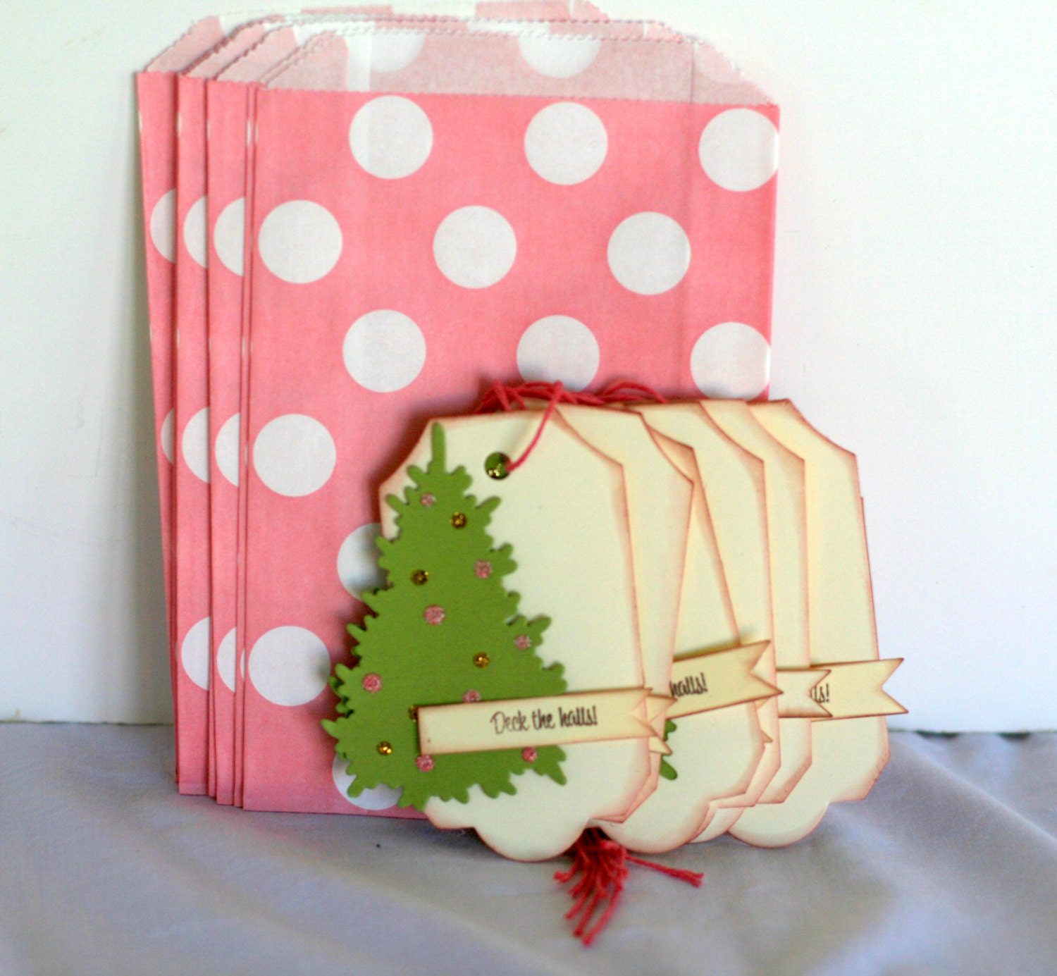 Christmas cookie bag and tag treat by