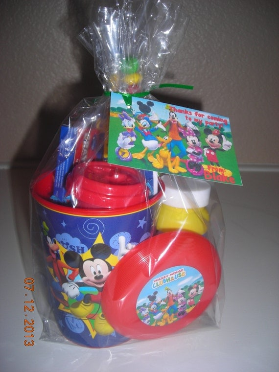 5 Filled Mickey Mouse Clubhouse Treat Goodie By