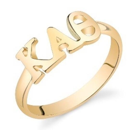 Gold Kappa Alpha Theta Ring