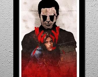 Dexter Morgan - Deb Morgan - Poster 13 x 19