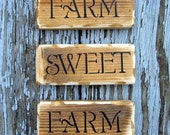 Farm Sweet Farm block set