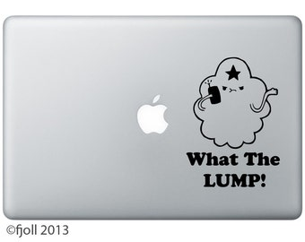 Lumpy Space Princess What The Lump Decal Adventure Time