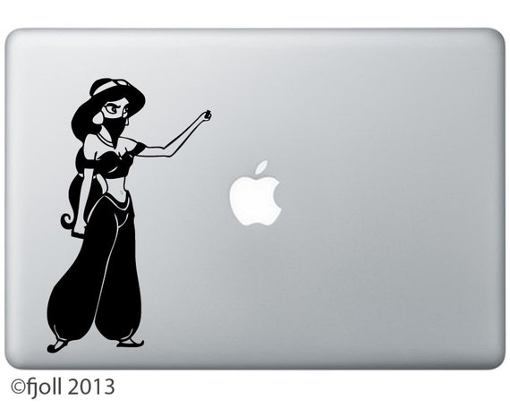 Apocalyptic Princesses: Jasmine with Brass Knuckles decal