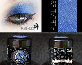 Pigment  Eye Shadow - Blue Eyeshadow -Scaredy Cat - PLEIADES - 5 mL Sifter
