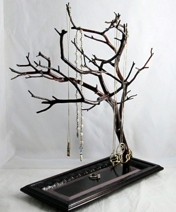 Jewelry tree deals on 1001 blocks for Tree branch jewelry holder