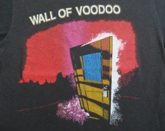 WALL Of VOODOO vintage 1983 tour TSHIRT