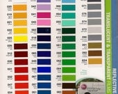 12 sheets (12 x 24in)     Oracal 651 Glossy Outdoor vinyl sheets  ALL COLORS AVAILABLE