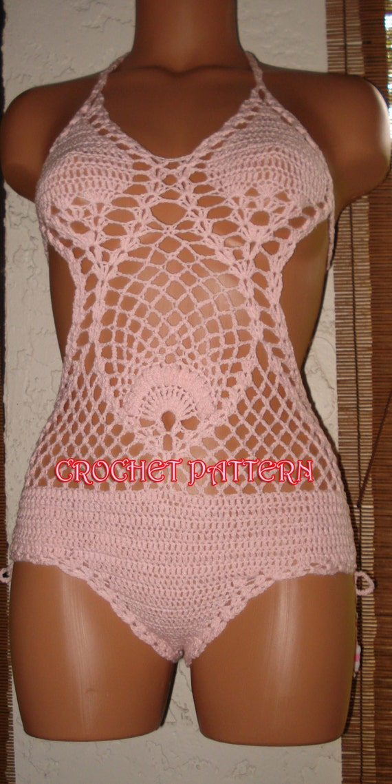 Crochet Super Model Monokini Crochet Pattern Only,This is project not ...
