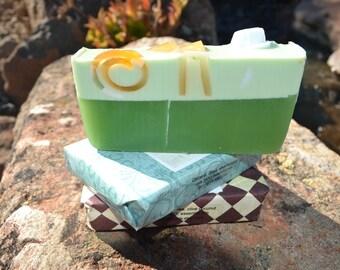 All Natural Soap~ Organic Soap~ Vegan Soap~ Earthy Oak Moss Soap~ Amber Soap~ Olive Oil Coconut Oil ~All Natural Soap Man