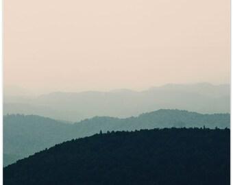 Virginia photography, blue ridge mountains, mountain photography, landscape, fine art print