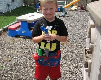 Little boys superman tool belt
