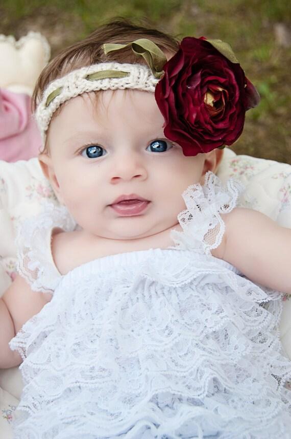 Ribbed Headband Knitting Pattern : Ribbed Cotton Headband Knitting PATTERN for Newborns-Adults