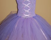 Rapunzel Inspired Tutu Dress