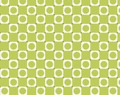 1 Yard Anything Goes Basic Green Squares by Barbara Jones of QuiltSoup for Henry Glass