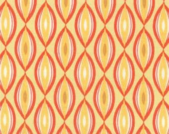 1 Yard Sunnyside Luster Glow Yellow Geometric by Kate Spain for Moda