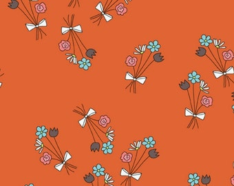 Just for Fun Orange Flower Bouquet by Marisa and Creative Thursday for Andover