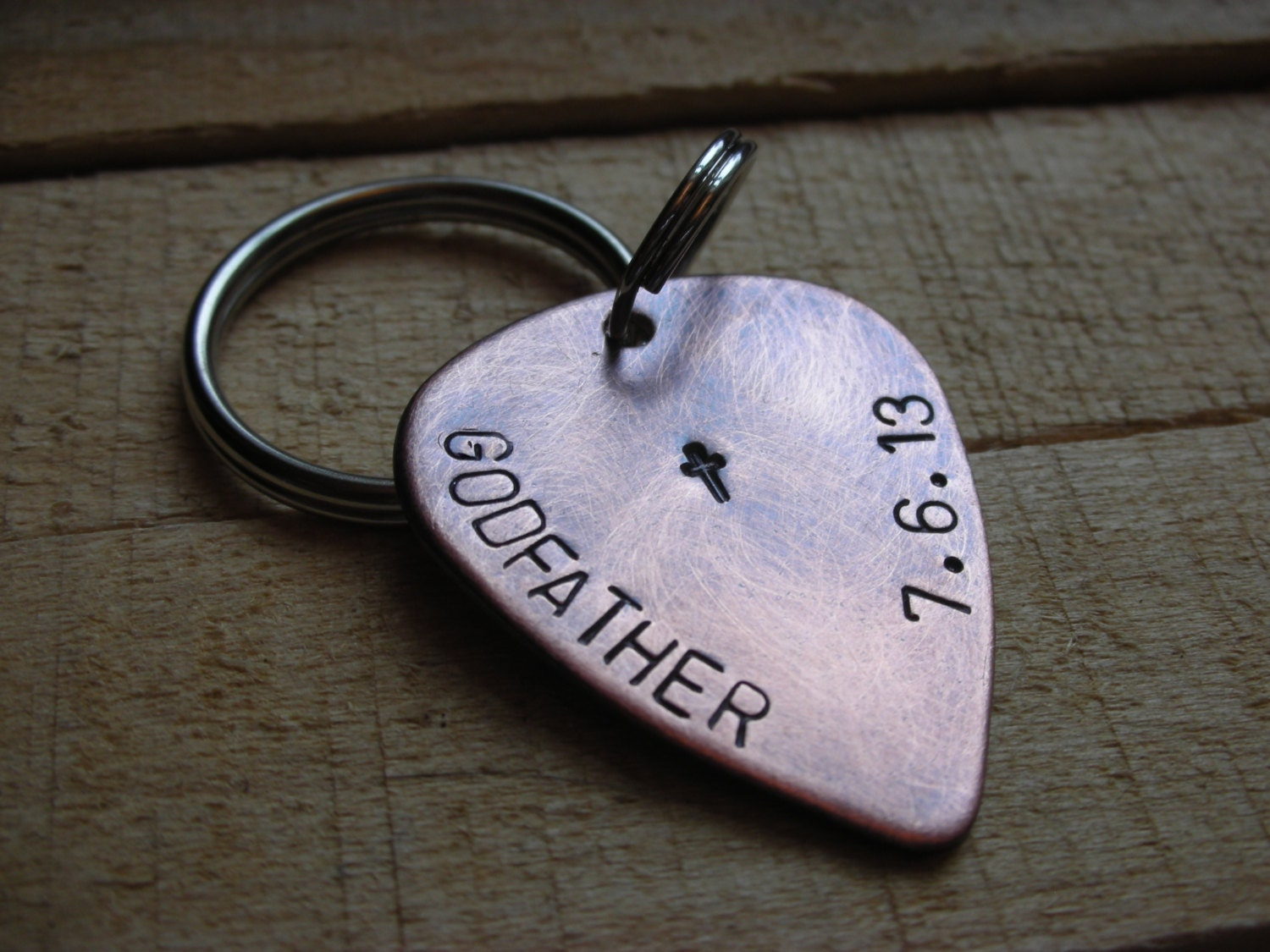Gift For Godmother Godmother Gift Mothers Day Gift: Godparent Guitar Pick Keychain Gift For Godfather-Gift For