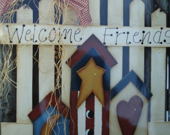 Pattern Packet: Welcome Friends by Heart-N-Home Creations