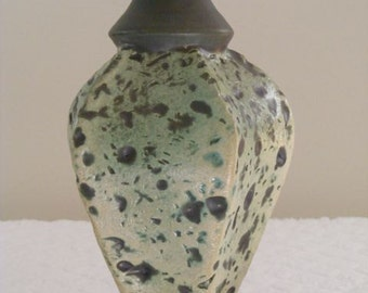 Handmade Pottery Vase, Handmade Vase, Ceramic Vase, Large Vase, Amphora-Like, 023A