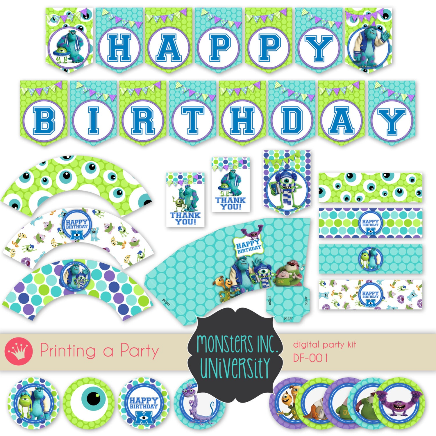 Monsters University Party Pictures to Pin on Pinterest - ThePinsta
