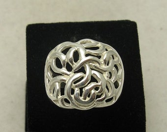 R000326 STERLING SILVER Ring Solid 925