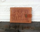 Brown Leather Wallet Italy ON SALE