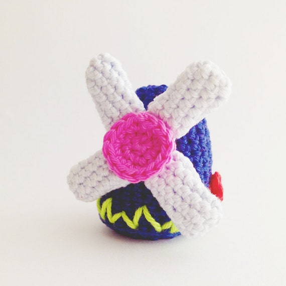 Crochet Patterns Keychain : Crochet Mill Windmill Keychain Pattern Instant Download by ...