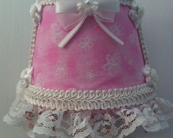 Pink Frilly Night Light