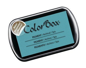 Colorbox Pigment Ink Pad (Full Size) - Spa