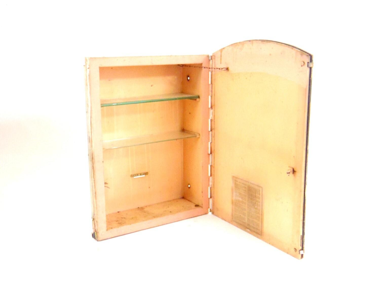 Medicine Cabinet 1920s Wall Mirror Vintage Bathroom Cabinet