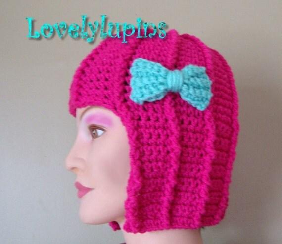 hair hat,wig hat, crochet pattern, cute stylish hat, easy to make ...