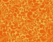 Windham quail swirl orange Large Swirl Basics yellow whistler studios
