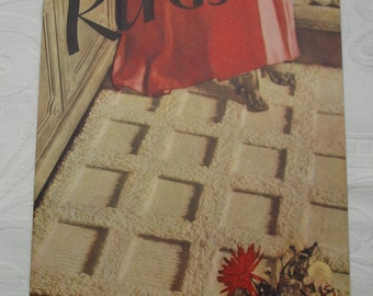 Vintage Star Book No.51, Rugs, Directions for Variety of Rug Styles