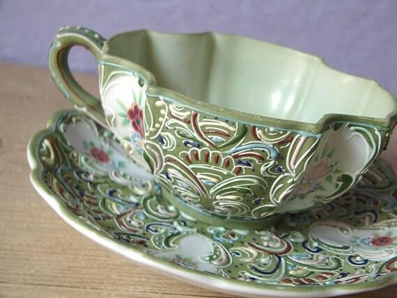 Antique Japanese Porcelain Tea Cups Rare Antique Japanese Tea Cup