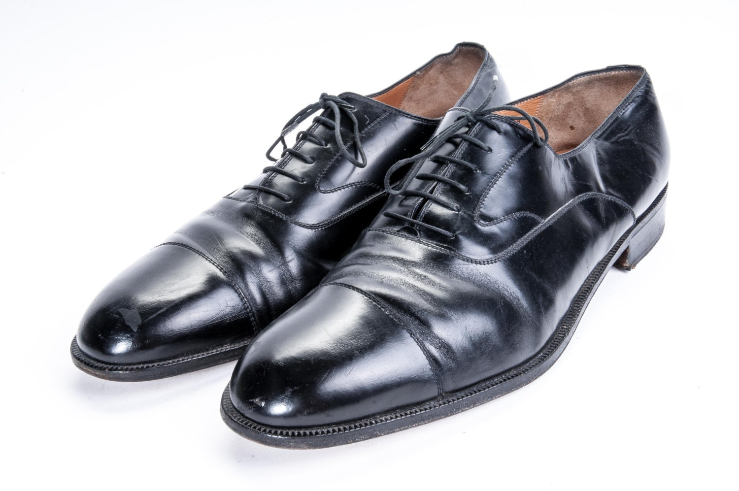 size 14 s dress shoes made in ferragamo in italy