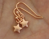 Rose Gold Earrings, Rose Gold Tiny Star Earrings, Rose Gold Jewelry, Best Friend Gifts, Girlfriend Gifts, Birthday Gift, Sister, Minimal