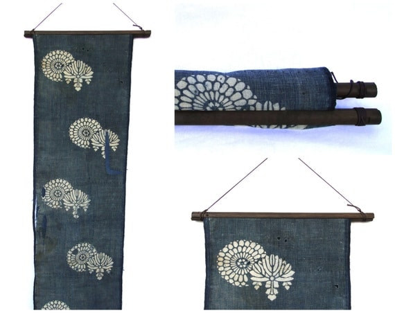 Textile Display Hanger. Wooden Fabric Scroll. Wall Hanging Supply. (Ref: 1785)