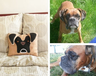 Custom Handmade Pet Pillow (With Tail)