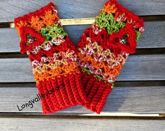 Wrist warmers fingerless gloves, Fingerless gloves
