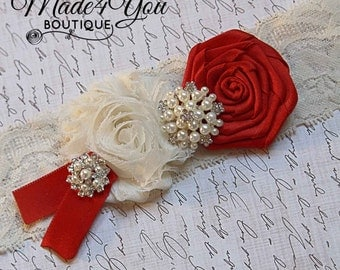 53 COLOR OPTIONS-Keepsake Bride Garter-PersonalWedding Garter-One Garter-Custom Garter