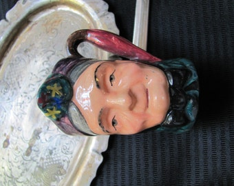 Small Character Face Toby Mug - Ridgway England
