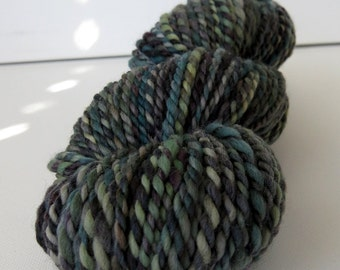 SALE - Polwarth Wool Handspun Yarn - 80 yards