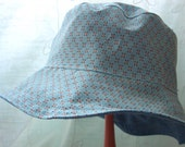 Kid Bucket Hat, Reversible Bucket Hat, Child Sun Hat