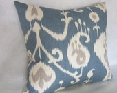 Ikat Pillow Cover in Home Accents Fabric