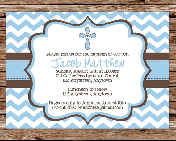 Baptism Invites Templates for adorable invitations example
