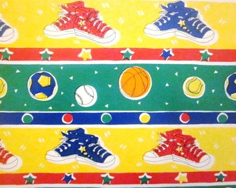 Vintage Wrapping Paper - Converse Shoes - Full Sheet Gift Wrap