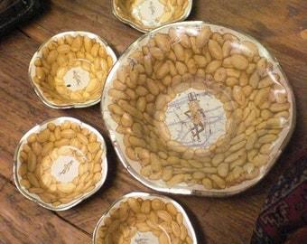 Mr Peanut Nut Dish Set